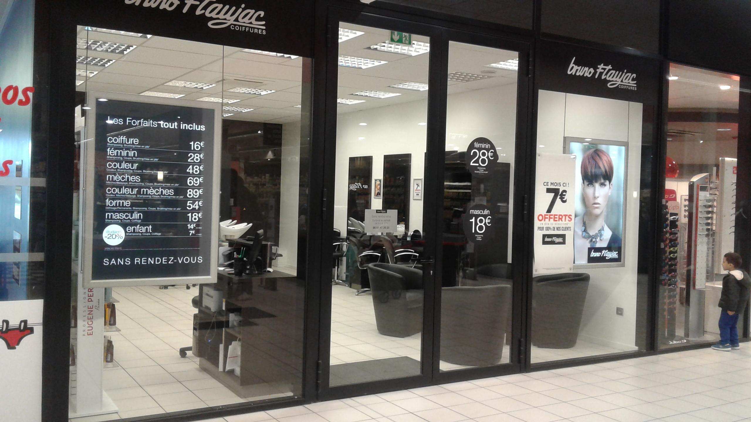 Toulouse avenue de fronton bruno flaujac salon de for Salon de coiffure toulouse