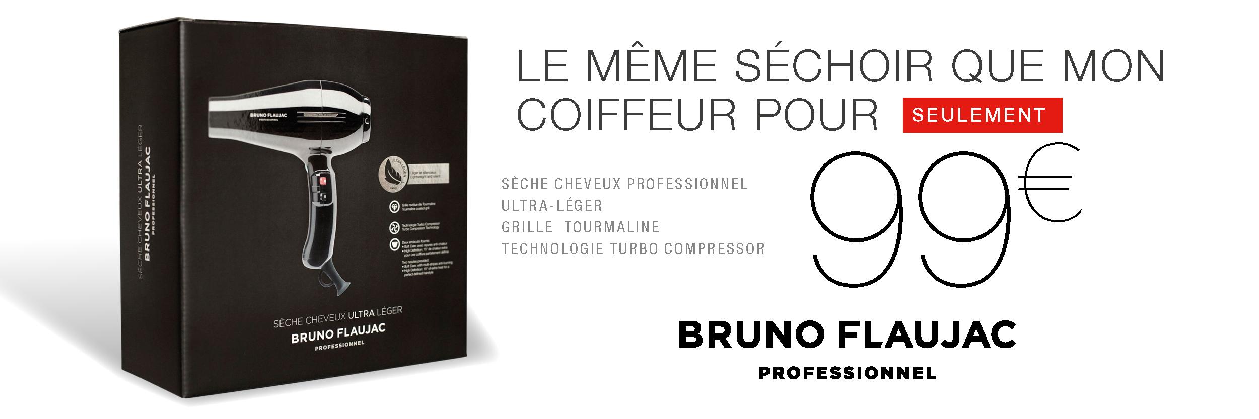 Sèche cheveux professionnel Bruno Flaujac