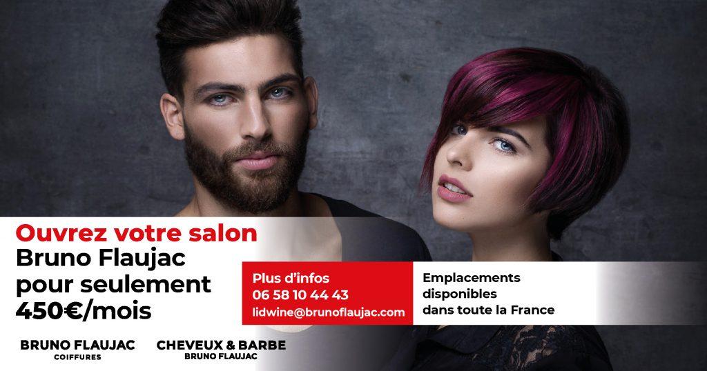 Ouvrez votre salon de coiffure Bruno Flaujac
