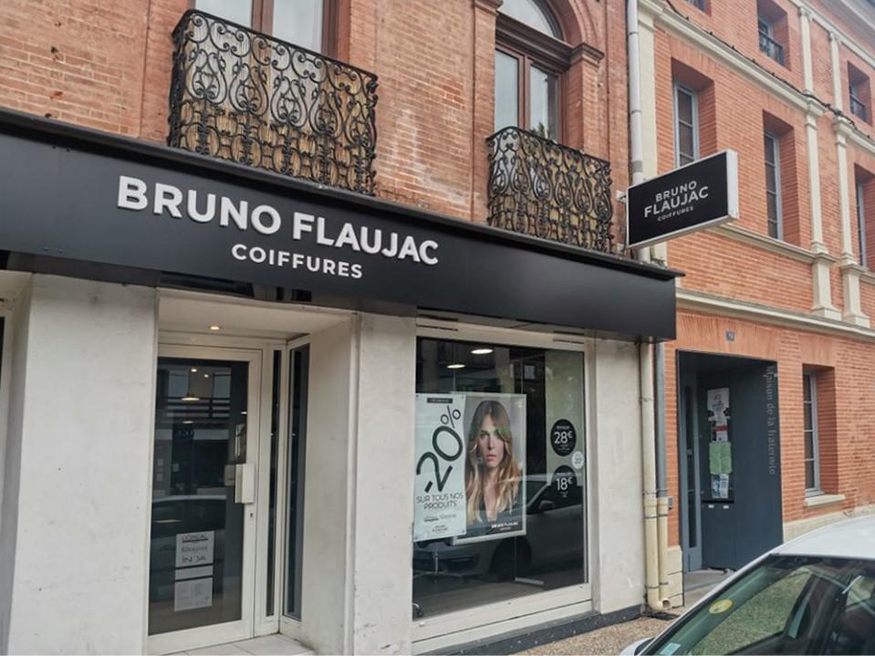 Bruno Flaujac coiffures Castanet VIllage
